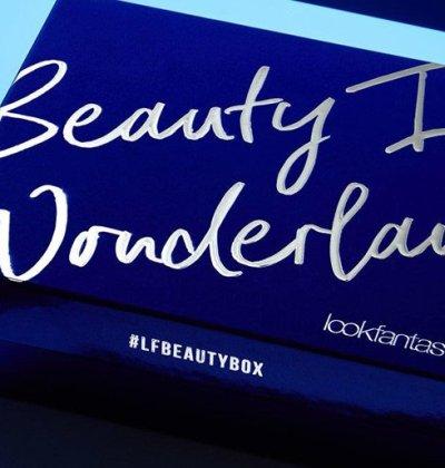 look fantastic beauty in wonderland beauty box look fantastic diciembre 2017
