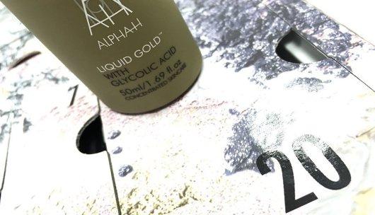 Asos calendario de adviento 2017 alpha h liquid gold with glycolic acid