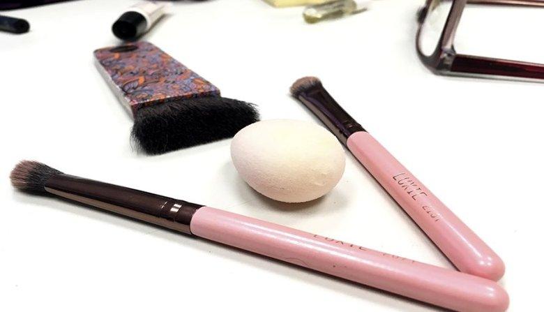 Neceser ideal de maquillaje neceser de maquillaje para principiantes productos en minitallas maquillaje brochas de luxie better beautyblender