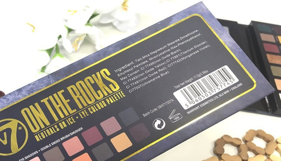 anastasia beverly hills subculture palette clon on the rocks w7 7