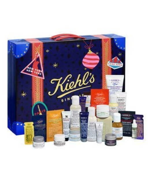 calendario de adviento kiehls españa 2018 advent calendar beauty calendario adviento 2018 spoilers kiehls españa