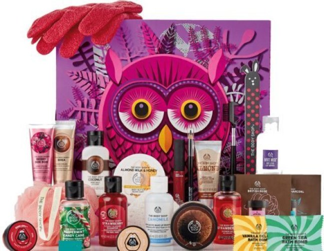calendario de adviento the body shop 2018 calendario de adviento 2018 advent calendar beauty calendario adviento 2018 spoilers 2