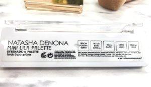 natasha denona review blush and glow mini lila palette mini star palette swatches natasha denona opinion 5