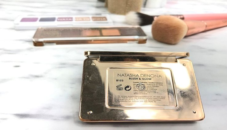 natasha denona review blush and glow mini lila palette mini star palette swatches natasha denona opinion