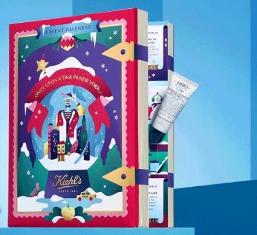 calendario de adviento de belleza 2019 calendario de adviento kiehls 2019 madridvenek calendario de adviento maquillaje