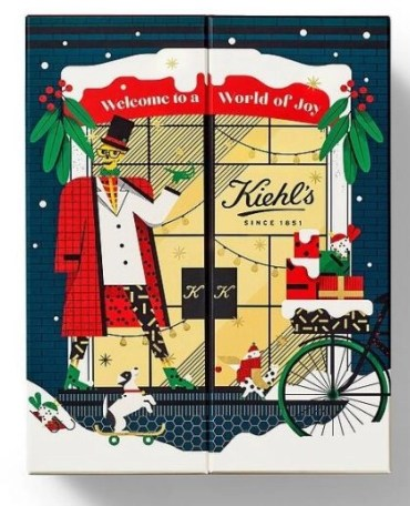 calendario de adviento kiehls 2020 beauty advent calendar kiehls 2020 madridvenek