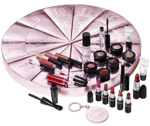 calendario de adviento mac cosmetics 2020 beauty advent calendar mac madridvenek