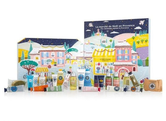 loccitane calendario de adviento de belleza 2020 beauty advent calendar madridvenek full