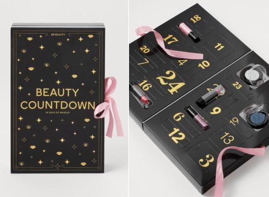 calendario de adviento h&M 2020 beauty advent calendar H&M madridvenek