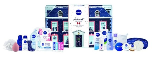 calendario de adviento nivea 2020 beauty advent calendar nivea madridvenek