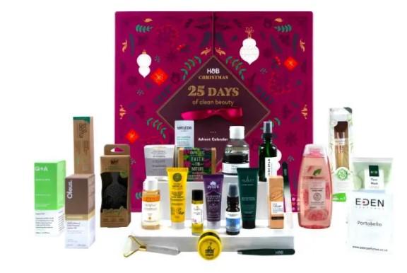 calendario de adviento de belleza 2021 calendario de adviento Holland & Barret 2021 comprar calendario de adviento maquillaje 2021