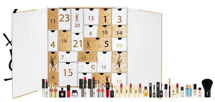 calendario de adviento de belleza 2021 calendario de adviento Kiehls Yves Saint laurent 2021 comprar calendario de adviento maquillaje 2021