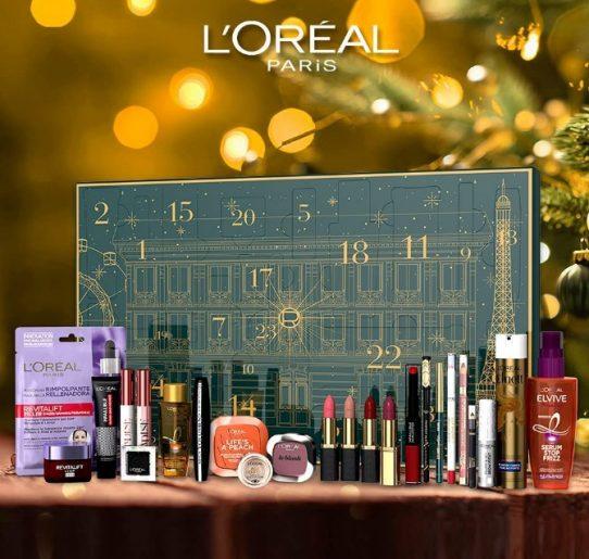 calendario de adviento de belleza 2021 calendario de adviento Loreal 2021 comprar calendario de adviento maquillaje 2021