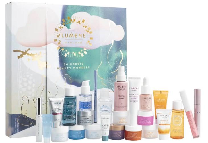 calendario de adviento de belleza 2021 calendario de adviento Lumene 2021 comprar calendario de adviento maquillaje 2021