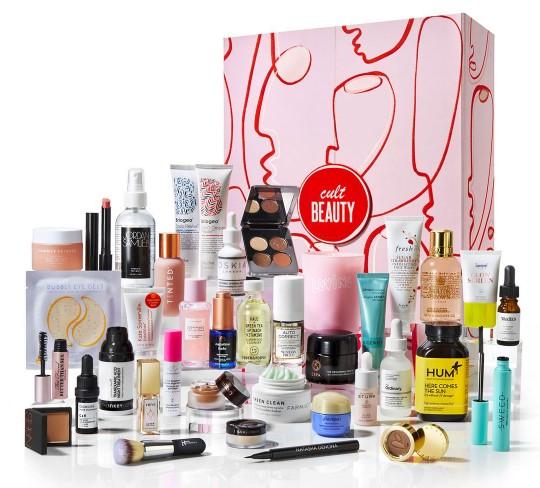 calendario de adviento de belleza 2021 calendario de advientoCult beauty 2021 spoilers comprar calendario de adviento maquillaje 2021