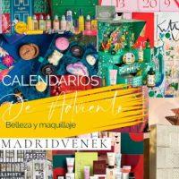Calendarios de adviento de belleza y maquillaje 2021 - ¡TODOS los calendarios low cost y alta gama!