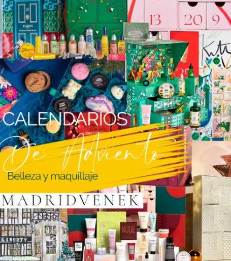 calendarios de adviento de belleza y maquillaje 2021 calendarios de adviento de belleza 2021 madridvenek calendarios de adviento maquillaje 2021 advent calendars 2021