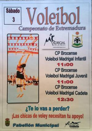 Voleibol 3 de febrero)