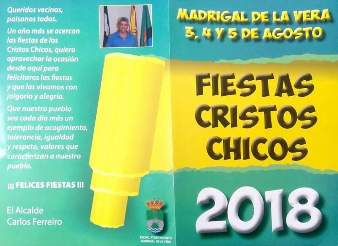 Cristos chicos 2018 - Saluda