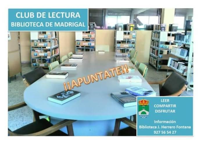 Club de lectura (Biblioteca de Madrigal de la Vera)