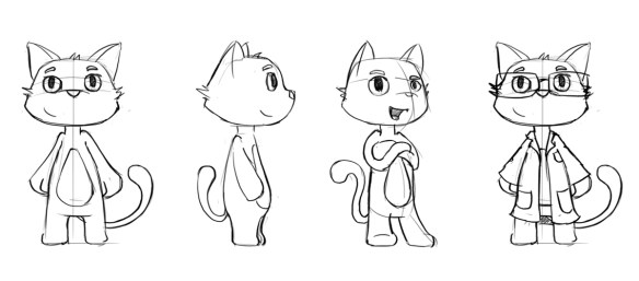 Dr Mad original character design