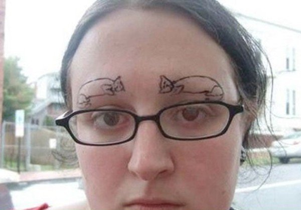 Ugly Eyebrows
