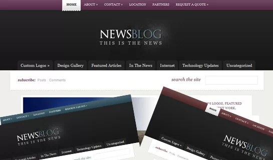 eNews – Crispy and Subtle Magazine-style WordPress Theme