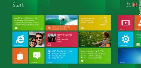 Microsoft Launches Windows 8 Consumer Preview
