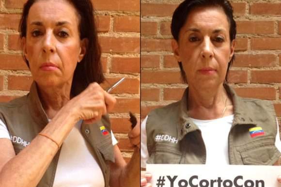 Madre-de-Leopoldo-Lopez-se-corta-el-cabello-por-la-injusticia