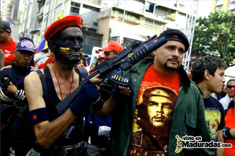 Violencia en Venezuela Colectivos armados.