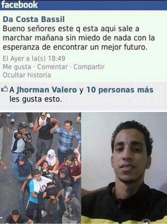 estudiantes fallecidos muertos en protestas 12F