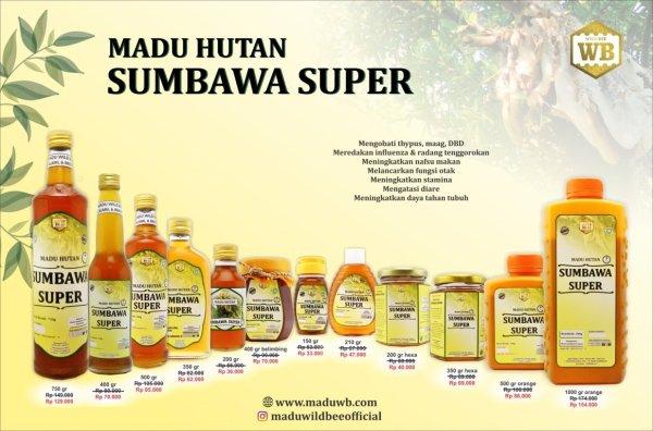 madu sumbawa super wild bee