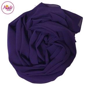 Madz Fashionz UK: Long Maxi Plain Chiffon Purple Muslim Hijabs Scarves Shawls