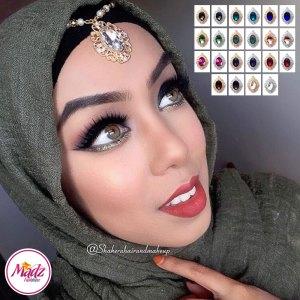 Madz Fashionz USA: Shakerahairandmakeup Matha Patti Maang Tikka Headpiece
