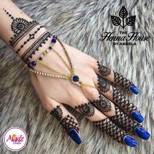 Hennabyang Cuff Bracelet Hand Jewellery Panjas – MadZ FashionZ USA