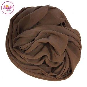 Madz Fashionz UK: Long Maxi Plain Chiffon Khaki Muslim Hijabs Scarves Shawls