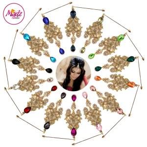 Madz Fashionz UK: Mahreen Inspired Chandelier Hijab Pin Hijab Jewels Stick Pins Gold Silver