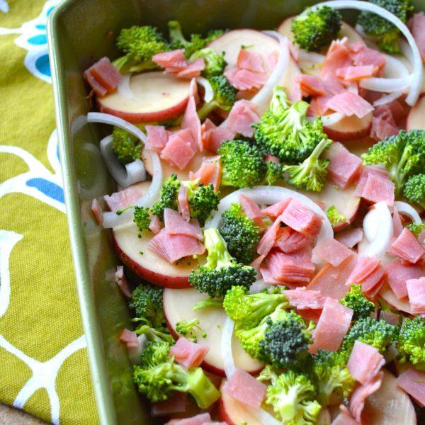 Ham and Broccoli Bake