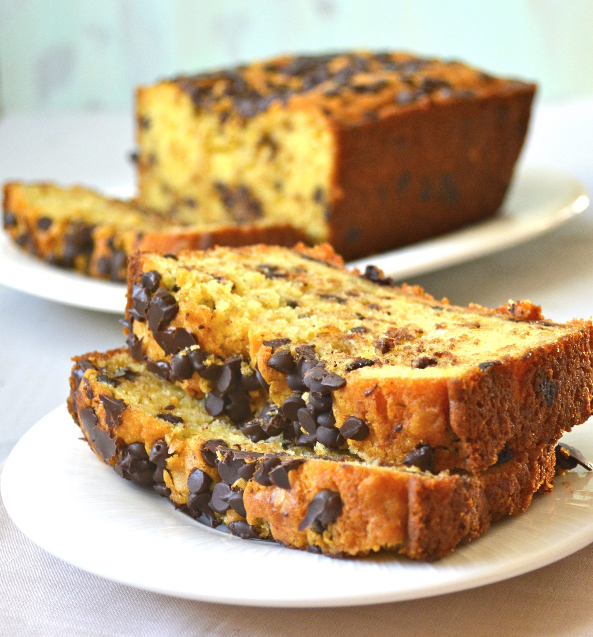 Chocolate Chip Cookie Bread - Maebells
