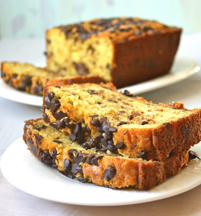 Chocolate Chip Cookie Bread (gluten free)