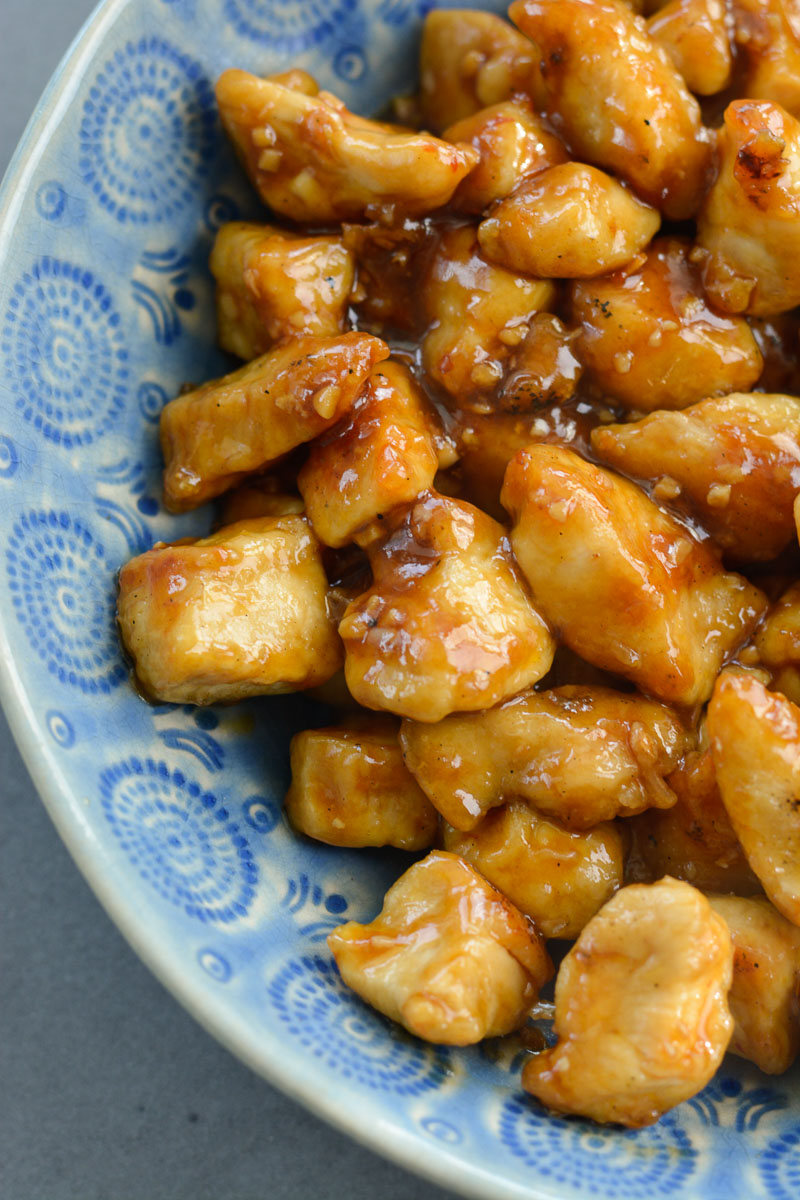 Spicy Kung Pao Chicken Keto Low Carb Option Recipe Maebells