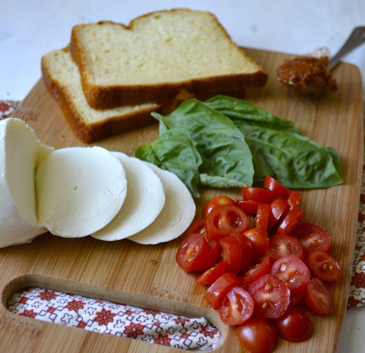 Pesto Tomato Panini