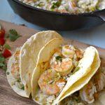 20 Minute Cilantro Lime Shrimp and Rice