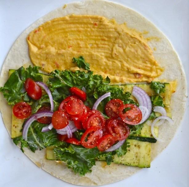 Grilled Zucchini Wraps