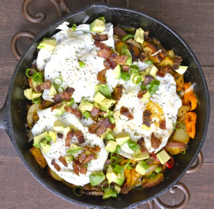 Mexican Breakfast Hash, a 30 minute no fuss meal!