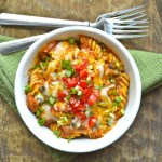 Spicy Sausage Black Bean Pasta