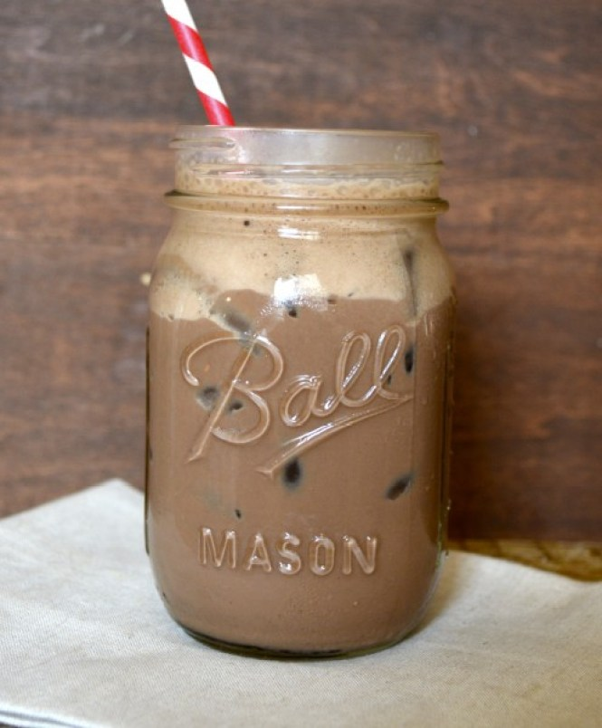 Super Simple Shaken Iced Mocha