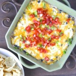 Ranch + Green Chili Chicken Dip