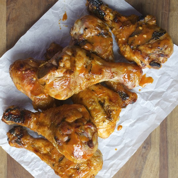 Drumsticks are smoked until they are perfectly tender then tossed in a tangy buffalo sauce! Ready in under 30 minutes!