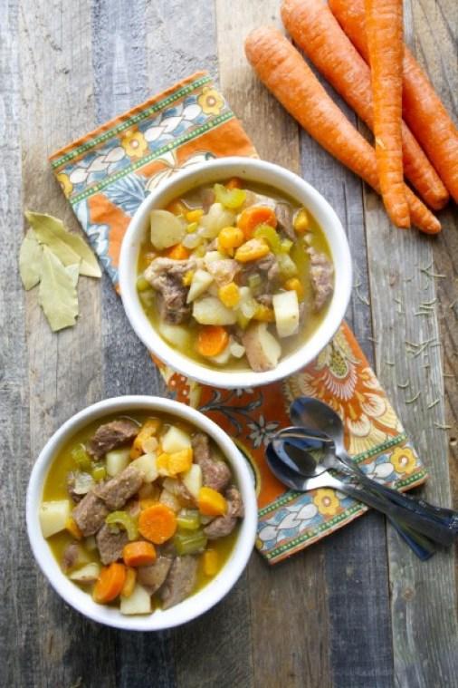 Rosemary Vegetable Beef Stew